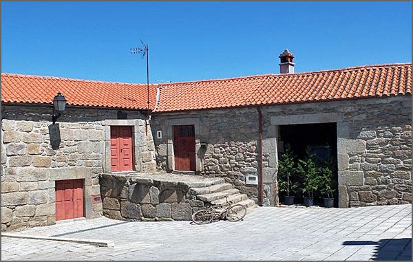 Carregal - casa onde nasceu Aquilino Ribeiro