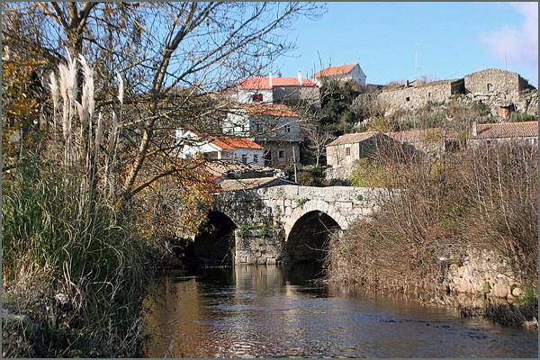 O rio Cesarão em Vilar Maior