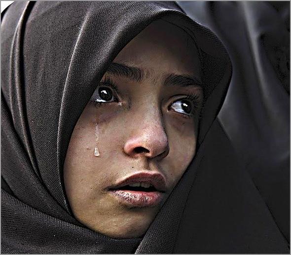Mulher da Palestina - António Emídio - Capeia Arraiana