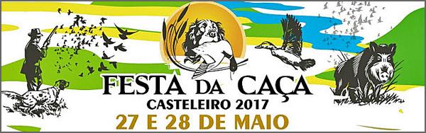 Cartaz da Festa da Caça no Casteleiro
