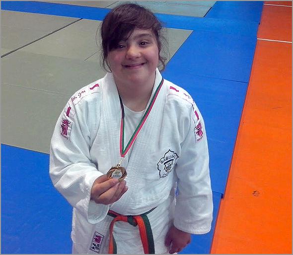 Maria Ribeiro - Judo Adaptado - David Carreia - Capeia Arraiana