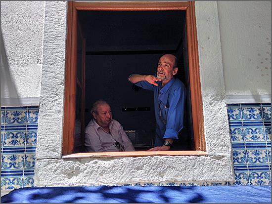 Foto da rodagem de «Guerra» de José Oliveira