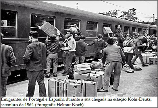 Emigrantes portugueses e espanhóis na chegada à Alemanha - capeiaarraiana.pt