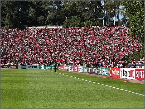 O Estádio do Jamor foi o cenário da vitória da RTP nas audiências