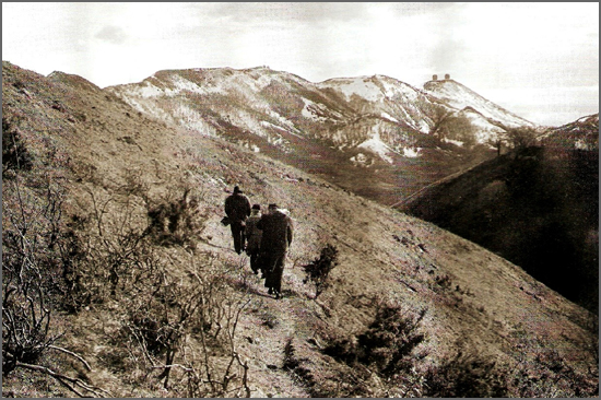Os Passadores ajudavam a atravessar a fronteira a salto