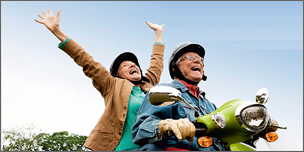 Uma vida feliz e saudável para os mais velhos