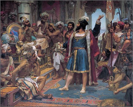 Vasco da Gama em Calecute