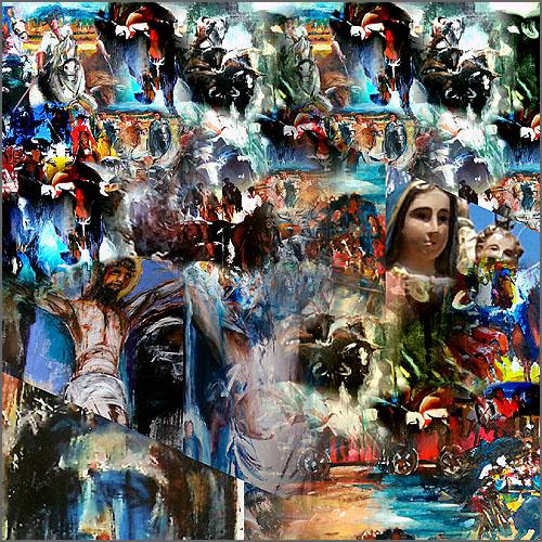Festas de Verão – Pintura de Alcínio