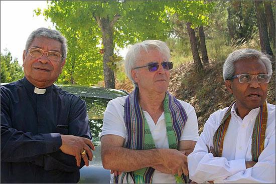 Ximenes Belo, Rui Chamusco e Gaspar Sobral