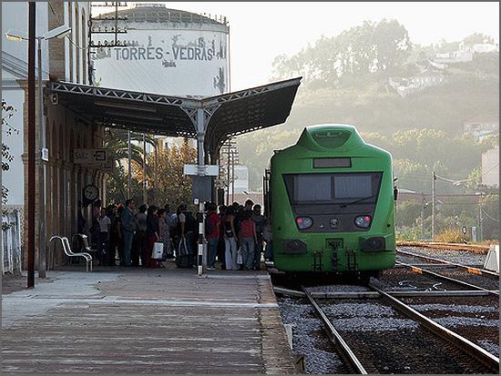 Atrasos nos comboios