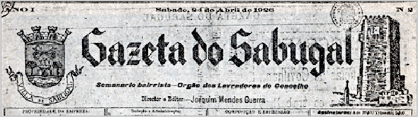 Gazeta do Sabugal - Órgão dos Lavradores do Sabugal - Capeia Arraiana