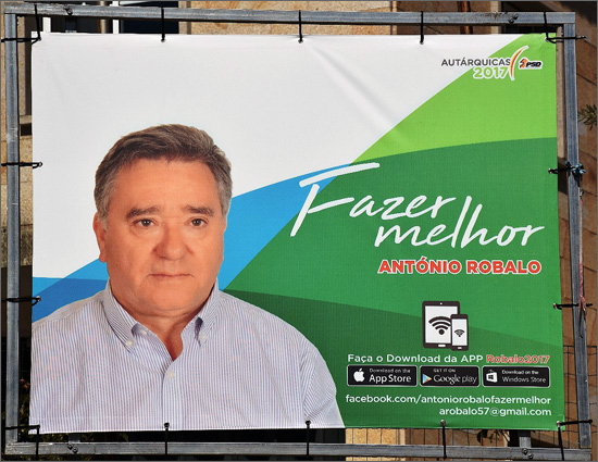 Venceu o PSD e o seu candidato António Robalo