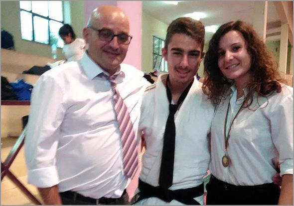 David Carreira, Emanuel Martins e Carla Vaz - Judo - Sporting Clube Sabugal - Capeia Arraiana