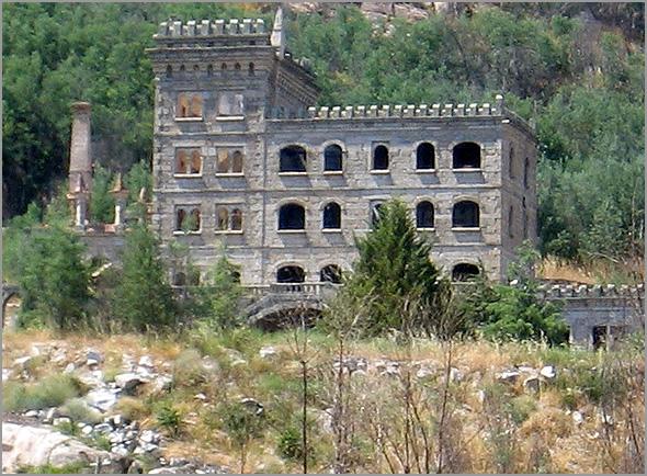 Ruínas das Termas de Água de Radium e do Hotel Serra da Pena - Capeia Arraiana