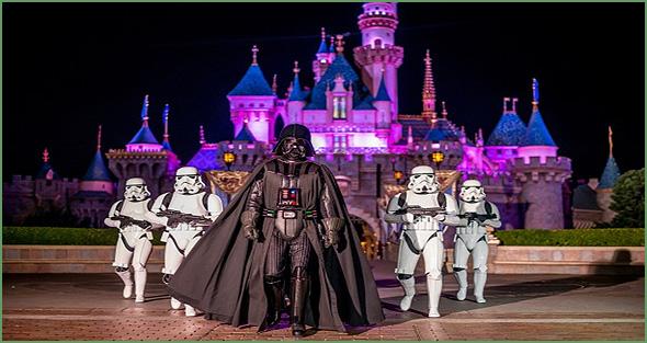 Guerra das Estrelas na Disneyland Paris - Capeia Arraiana