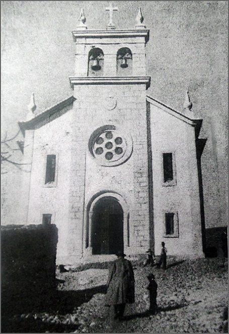 A igreja nova de Vale de Lobo - em 1948
