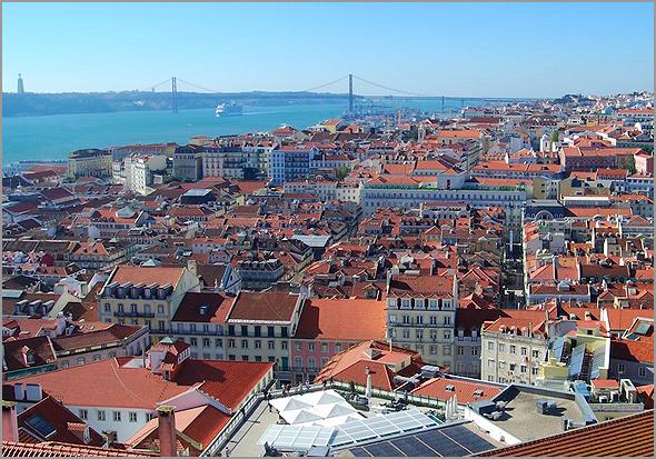 Miradouro do Castelo de São Jorge, em Lisboa - Capeia Arraiana