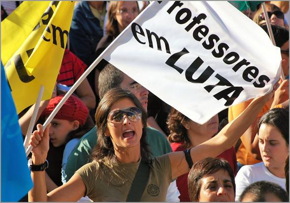 Semana de protestos dos professores - José Carlos Mendes - Capeia Arraiana