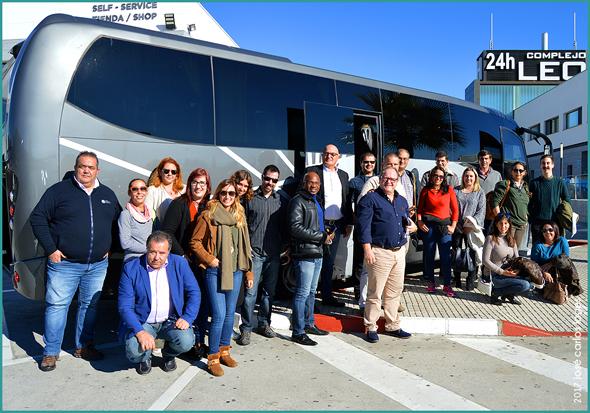 Participantes da DIT Portugal viajaram na Viúva Monteiro e Irmão do Sabugal - José Carlos Lages - Capeia Arraiana