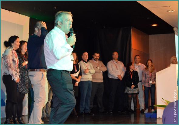 O Presidente Executivo Jon Arriaga na 1.ª Convenção Ibérica da DIT Gestion em Benalmádena - José Carlos Lages - Capeia Arraiana