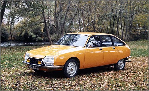 Citroen GS Pallas - o Amarelinho
