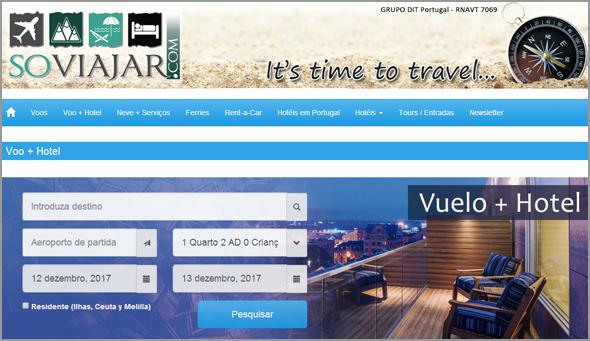 Motores de busca «self-service» para viagens, hotéis, rent-a-car do Grupo DIT Portugal - José Carlos Lages - Capeia Arraiana