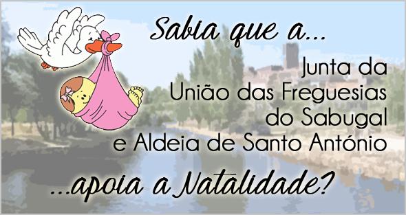 Apoio à Natalidade na Junta da União de Freguesias do Sabugal e Aldeia de Santo António - Capeia Arraiana