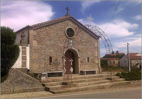 Capela de Santo António em Quadrazais - Capeia Arraiana
