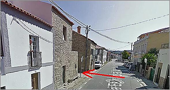 Entrada para o Caminho do Caramelo - Casteleiro - Capeia Arraiana