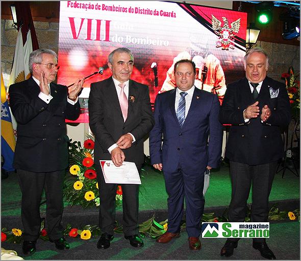 Crachá de Ouro - VIII Gala da Federação dos Bombeiros da Guarda - Luís Carlos Carriço - Capeia Arraiana