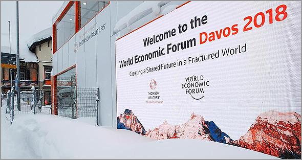 Cimeira de Davos 2018 na Suíça
