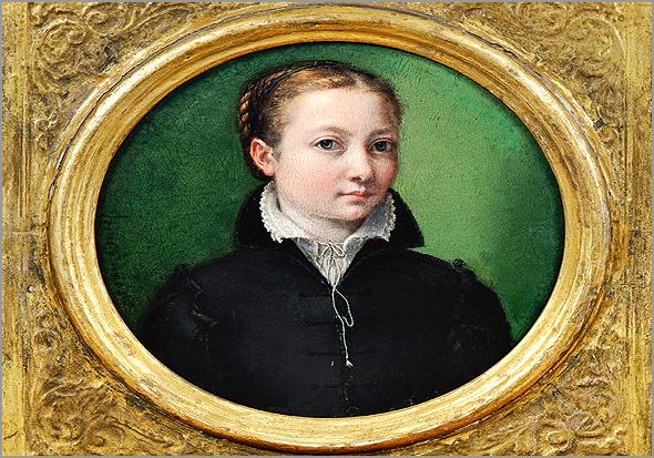 Autorretrato de Sofonisba Anguissola feito em 1556, aos 21 anos - Capeia Arraiana