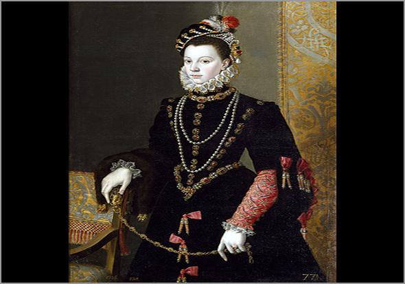 Isabel de Valois. Cerca do ano 1563 - Capeia Arraiana