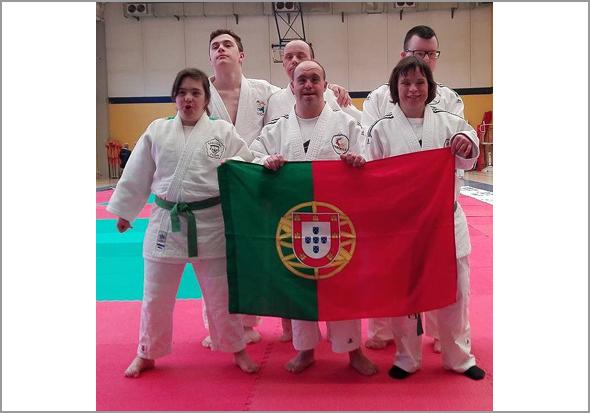 Comitiva portuguesa nos Campeonatos da Europa de Judo de Biella, em Itália - Capeia Arraiana