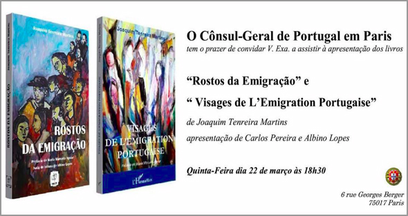 Apresentação dos livros de Joaquim Tenreira Martins em Paris no Consulado Geral de Portugal - Capeia Arraiana