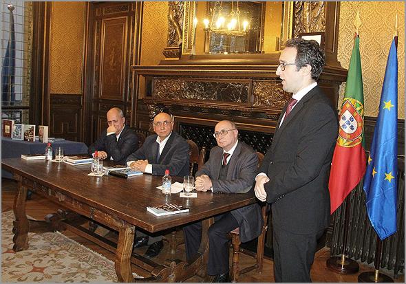 Apresentação do livro de Joaquim Tenreira Martins no Consulado de Portugal em Paris- Capeia Arraiana