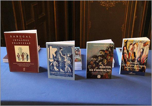 Livros publicados por Joaquim Tenreira Martins - Capeia Arraiana