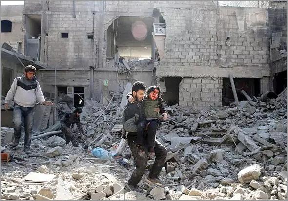 Guerra na Síria em Ghouta Oriental - Capeia Arraiana