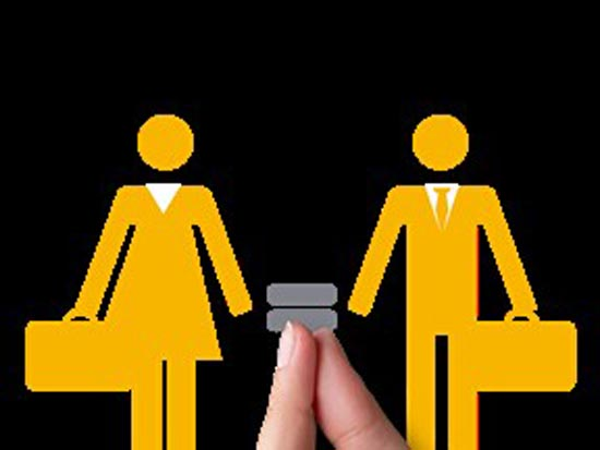 Igualdade sim, paridade não