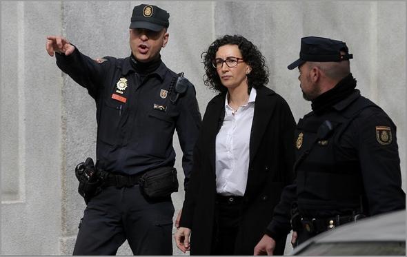 Marta Rovira exilada catalã (Foto: D.R.)