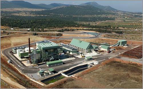 Central de Biomassa em Mérida, Espanha - Capeia Arraiana