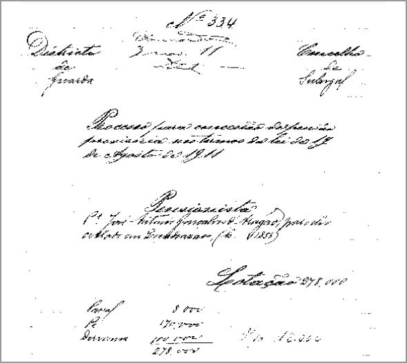 Documento n.º 334 - Franklim Costa Braga - Capeia Arraiana