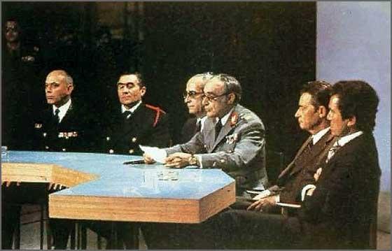 Quem mandava era a Junta de Salvação Nacional, composta por militares superiores