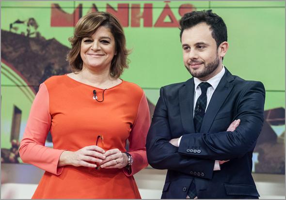 Queridas Manhãs - Júlia Pinheiro e João Paulo Rodrigues - Capeia Arraiana