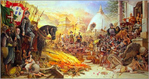 A ocupação militar no Ceilão - Capeia Arraiana
