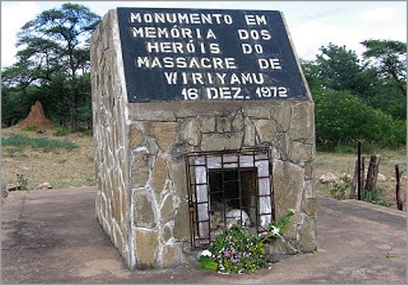 Monumento de memória em Wiriamu - António José Alçada - Capeia Arraiana