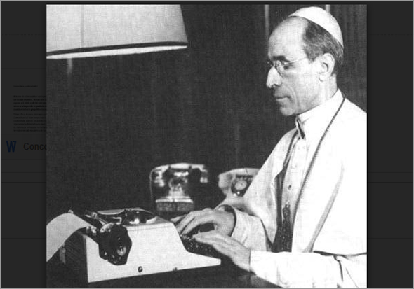 Papa Pio XII - Capeia Arraiana