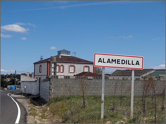Alamedilla, aldeia fronteiriça espanhola