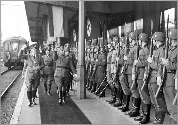 Hitler e Franco - Capeia Arraiana