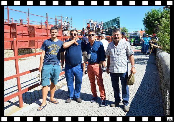 Imagem da Semana - José Dias no encerro e Capeia Arraiana em Aldeia do Bispo